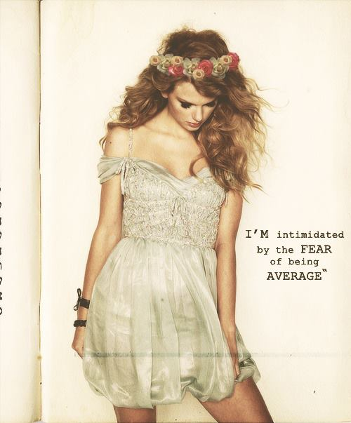 ♥ Quote of the day by Taylor...