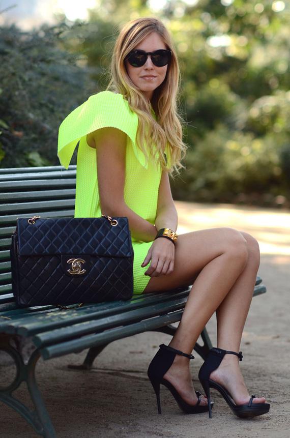 ♥ Neon blond salad inspiration ;)