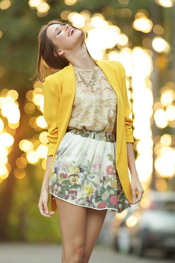 ♥  Friday yellow inspiration