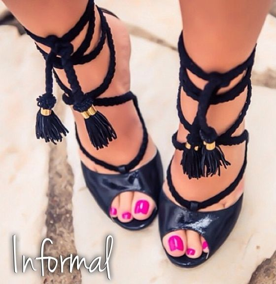 ♥ Dreaming with sandals like this....