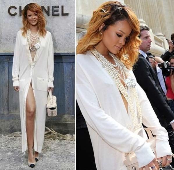 ♥ Riri rocking in Chanel