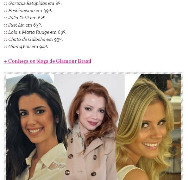♥ Brazilian bloggers on top 100 best blogs!