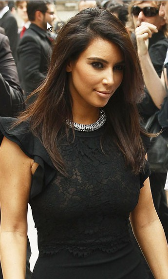 ♥ Kim mKardashian Before and After Pregnancy