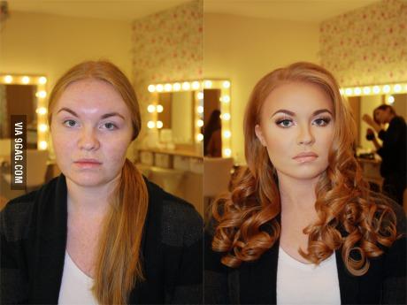 ♥ In doubt, always wear makeup!