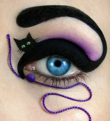 ♥ Cat eye taken to another level