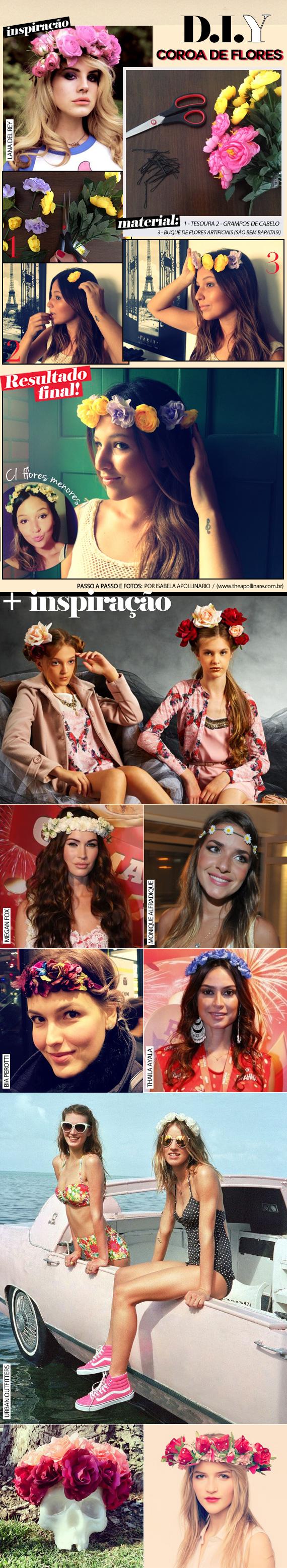 DIY: Flower tiara (Lana inspired)