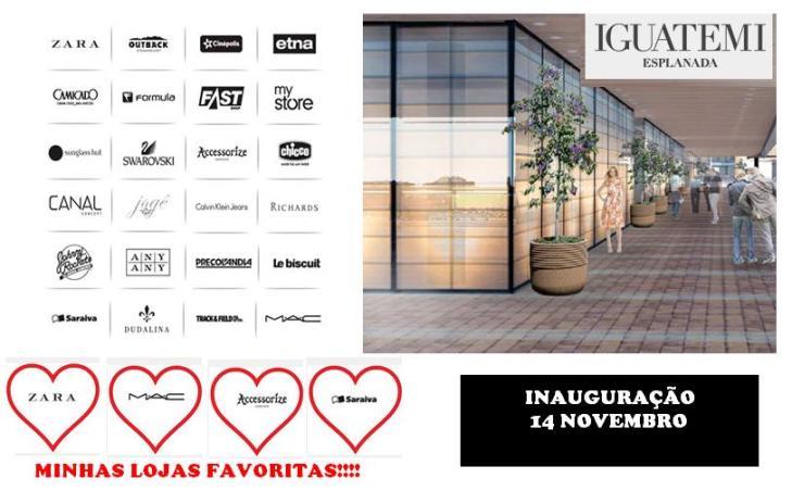 ♥ Save the date: Shopping Iguatemi Sorocaba Inaugura em Novembro