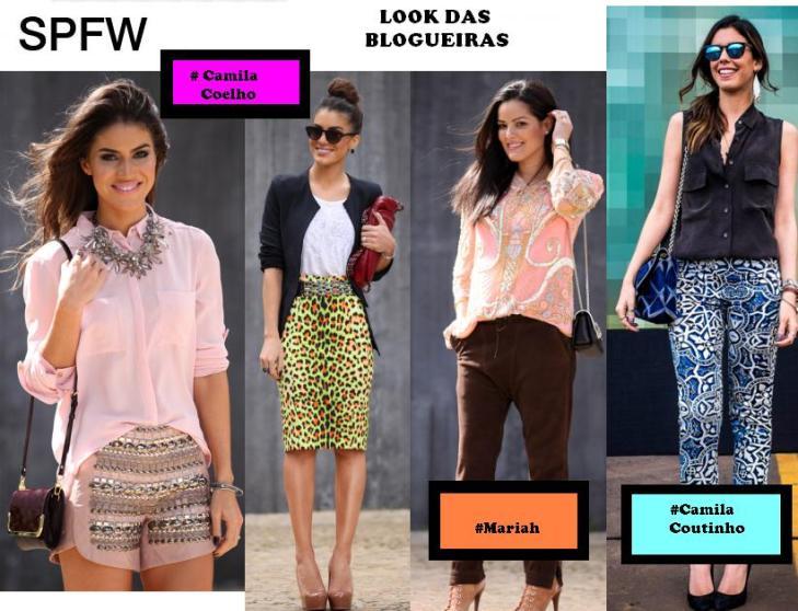 ♥ I-divahhh amou: Look das Blogueiras no SPFW!!!