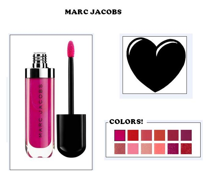 ♥ Wish list: Marc Jacobs Makeup