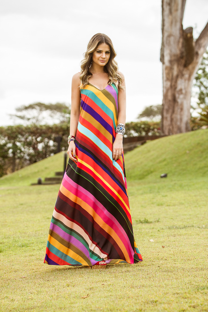 ♥ Colorful dress by Thassia
