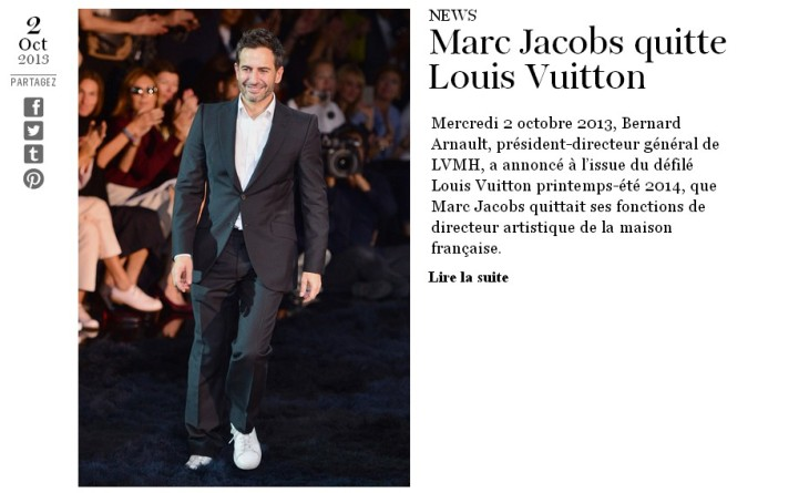 ♥ Divohhh of the divohhhs, Marc Jacobs has thrown on his Loubitans for Louis Vuitton !