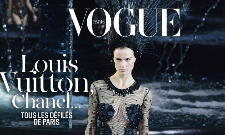 ♥ French Vogue´s cover website on Marc Jacobs leaving Louis Vuitton