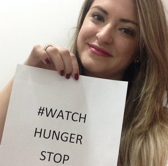 ♥  I support ! Help us stop wordwide  hunger, post a picture with the  hashtah #watchhungerstop