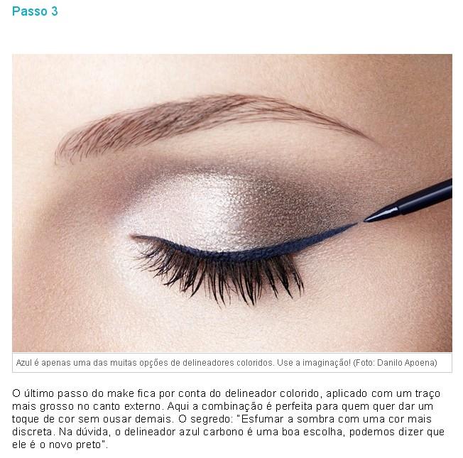 ♥ Make linda com delineador colorido by Marcos Costa - passo 3