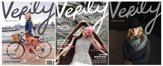 ♥  Verily: the magazine that doesn´t use Photoshop
