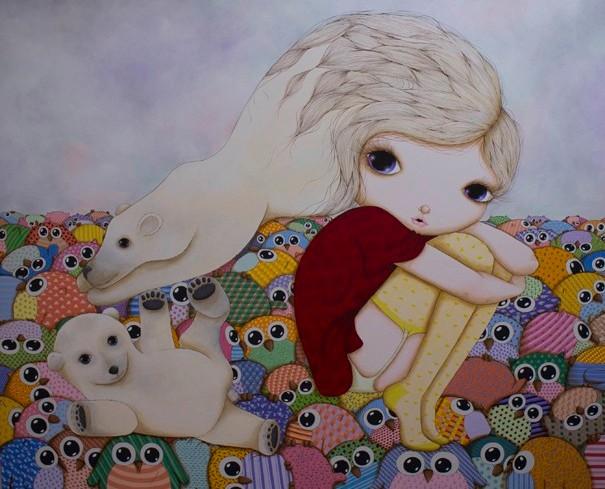 ♥ Amazing painting by Nina Pandolfo