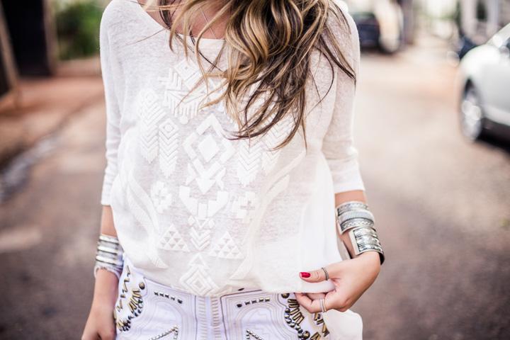 ♥ White on white