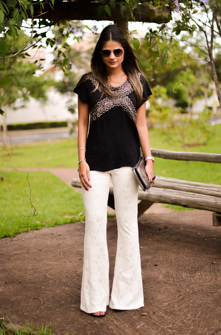 ♥ Look Black and White, sempre chic!
