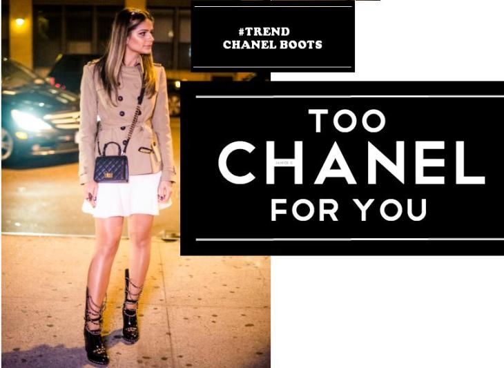 ♥ Trend Trend Trend: Chanel boots