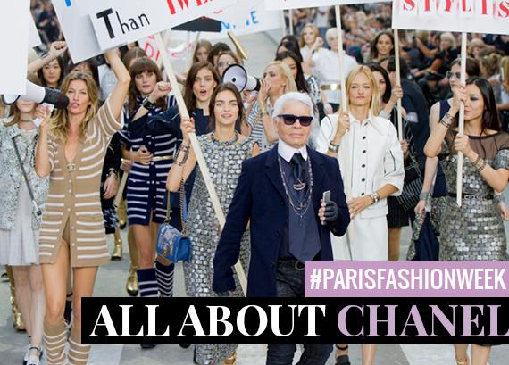 #PARIS FASHION WEEK: SPOT ON CHANEL