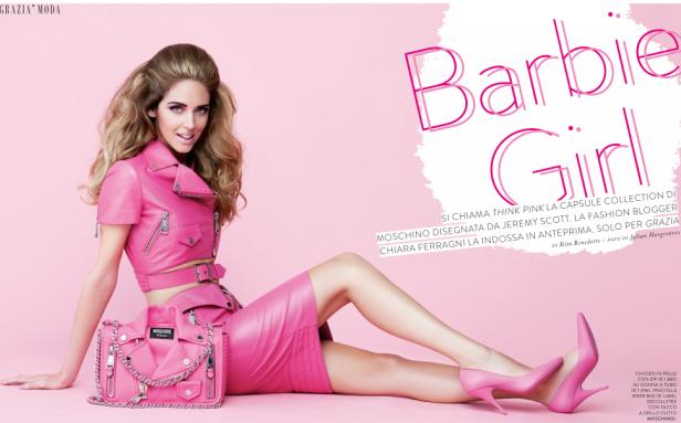 Chiara as Barbie!