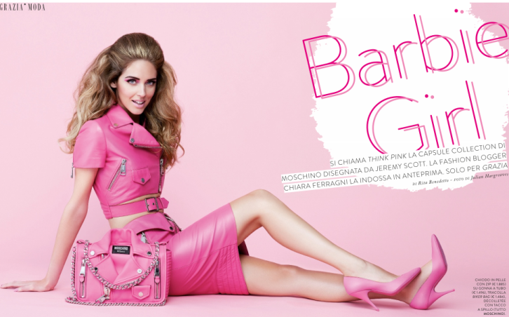 Chiara as Barbie!