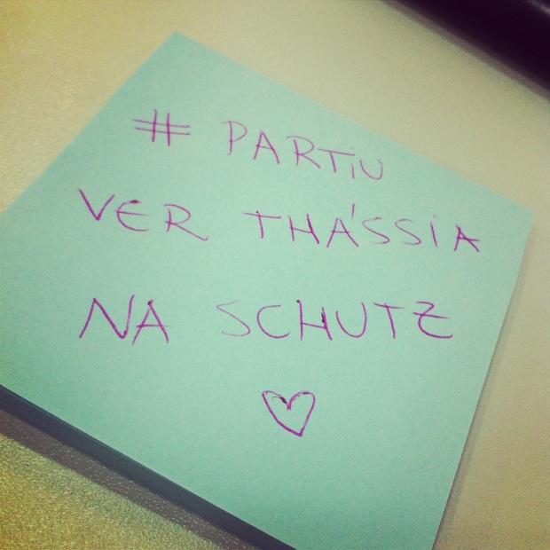 #Partiu....!